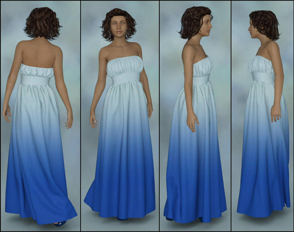 Dforce Fabulous Dress for G8F - 4 FBLRviews by Art-by-Lully