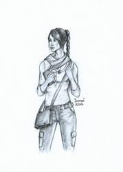 Adventure girl by irenei