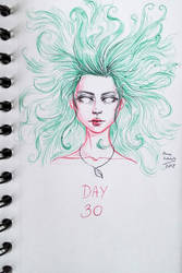 Inktober day 30 by irenei