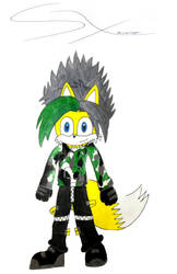 Phoenix The Fire Fox ((Drawing 3)) by Silverxtreme56