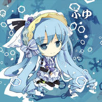Snow Miku by bondson