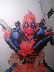 Deadpool by superheroarts