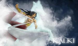 Kalki Avatar - Hindu Mythological God.. by SyedJeem