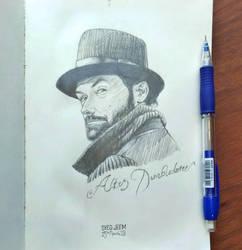 Professor Albus Dumbledore - Jude Law by SyedJeem