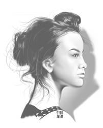 Portrait Study by SyedJeem