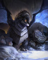 Guardian of the Ancient City by Juhupainting