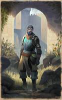 The Wayfarer by Juhupainting