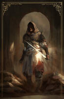The Wayfarer II by Juhupainting