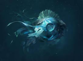 Deep Ocean Lifeform by Juhupainting