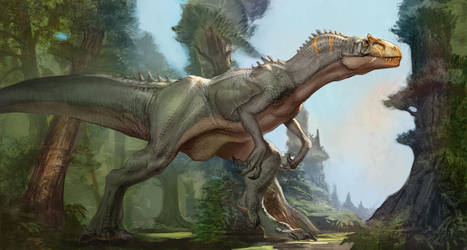 Allosaurus Fragilis by Carlo-Arellano
