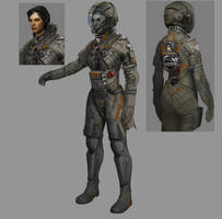 spacesuit by Carlo-Arellano
