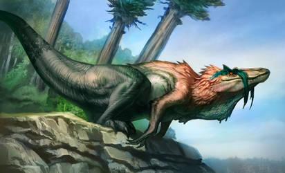 Regnatorsaurus InGenensis by Carlo-Arellano