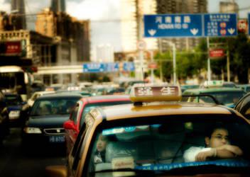 6PM, Shanghai. by JamesFlynn23
