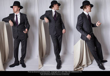 Sharp Dressed Man Sheet 01 by Null-Entity