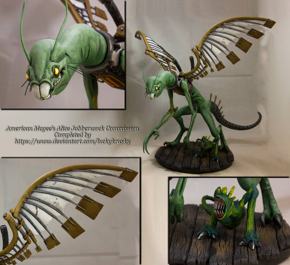 AMA: Jabberwock Sculpture/Commissioned by Null-Entity