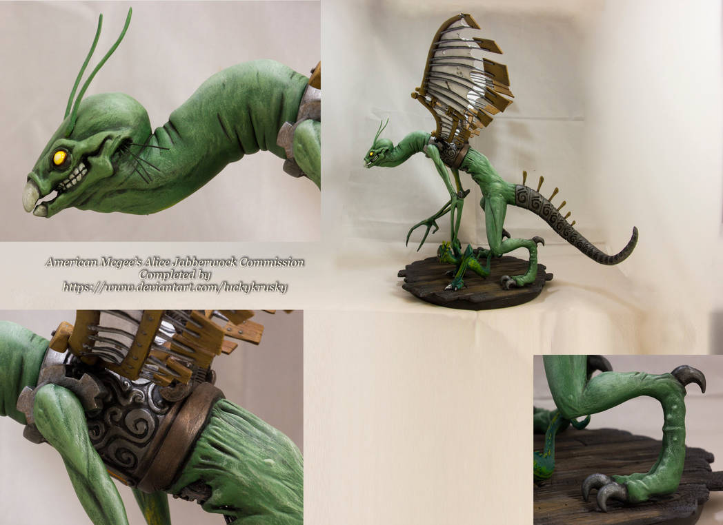 AMA: Jabberwock Sculpture/Commissioned #2 by Null-Entity
