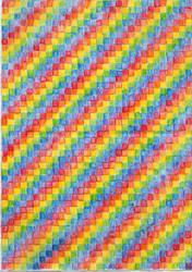 rainbow graph paper by kwinny