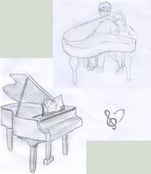 Piano by kwinny