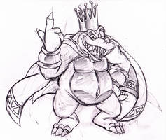 King K. Rool by Geibuchan