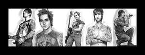 Avenged Sevenfold by tll-bam