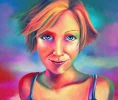 Rainbow Girl by tll-bam