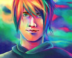 Rainbow Boy by tll-bam