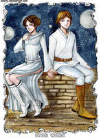 SW: A New Hope by MaryIL