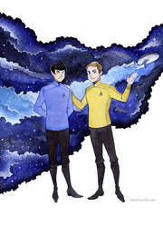AOS Star Trek - To Boldly Go by MaryIL