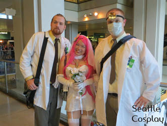 Archer's Dr Krieger X2 + Virtual Girlfriend by Seattle-Cosplay