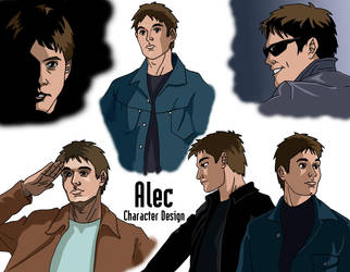 Alec character design by deanfenechanimations