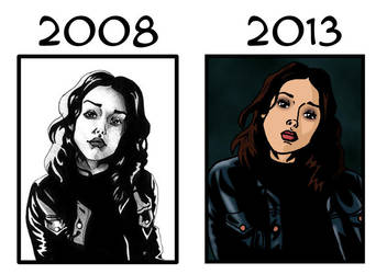 2008 vs 2013 Max by deanfenechanimations