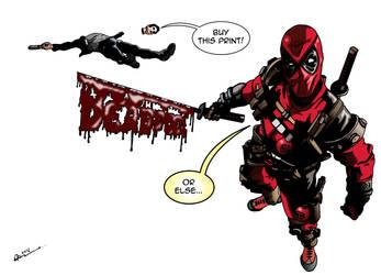 Deadpool by deanfenechanimations