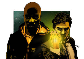 Heroes for Hire by deanfenechanimations