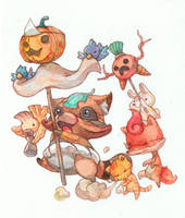 Halloween by jengslizer