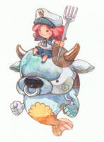 Sea Cow by jengslizer