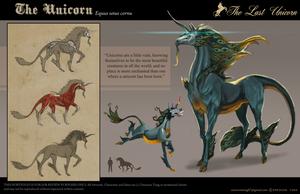 The Last Unicorn - Unicorn by emersontung