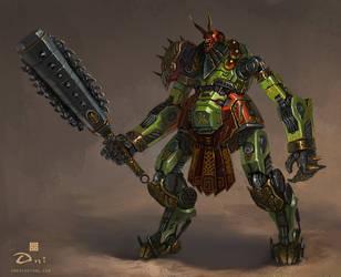 Samurai - Oni Grunt by emersontung