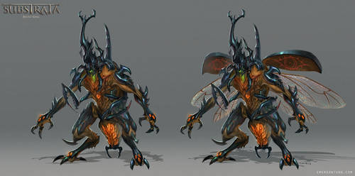 Substrata - Beetle King by emersontung