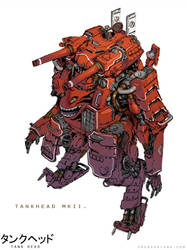 TankHead Mk. II by emersontung