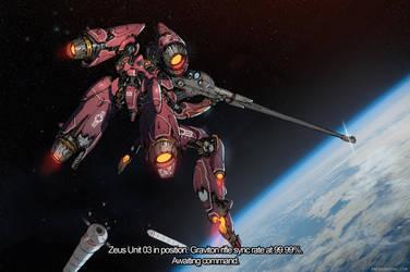 Zeus -  Orbital Sniper in action by emersontung
