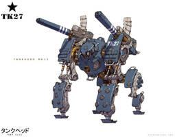 TankHead - TankKong Mk. II (Alt Colors) by emersontung