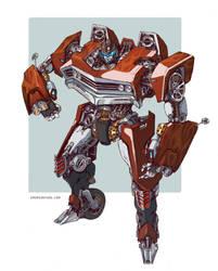 Transformers - 76' El Camino by emersontung