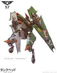 JetHead Warhawk by emersontung