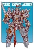 Steam Knight Arthur by emersontung