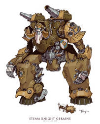 Steam Knight Geraine by emersontung
