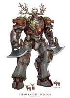 Steam Knight Esclados by emersontung