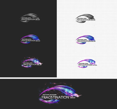 Fragstination multigaming logo by lukearoo
