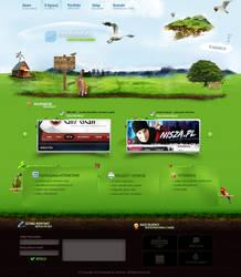 Design 4 Web Agency unistudio by lukearoo