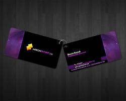 marcinprojekt business card by lukearoo