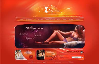 Sexy lingerie e-shop by lukearoo